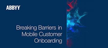 eBook su come ottimizzare il Mobile Customer Onboarding