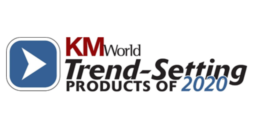 KM World Products Of 2020 Logo | ABBYY Blog Post